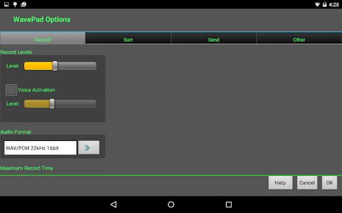 WavePad Audio Editor Free- screenshot thumbnail