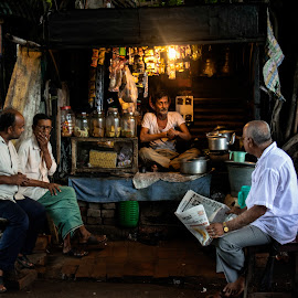 Hang out at afternoon by Sandipan Dey - People Street & Candids ( #, #candid, #street, #people )