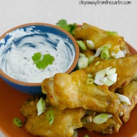 Marinated Indian Chicken Wings