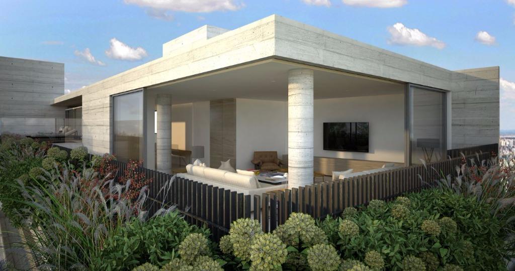 Perspectiva da Cobertura Duplex - 535 m²