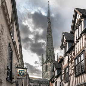 Shrewsbury by Nigel Bishton - City,  Street & Park  Historic Districts