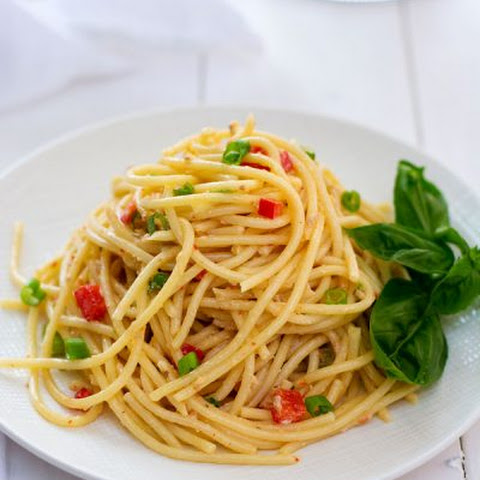 Spaghetti Salad with Italian Dressing