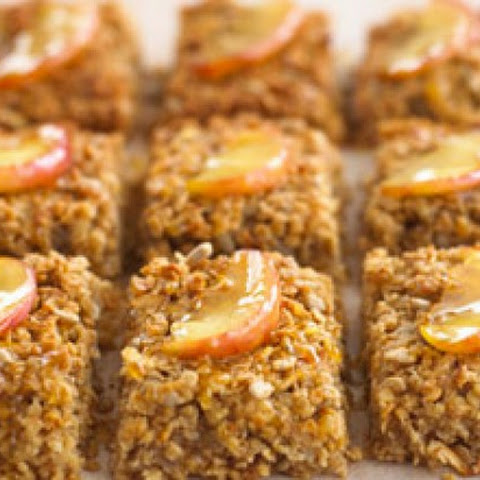 Apple And Cinnamon Flapjacks