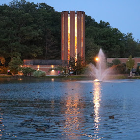 Penn State Altoona by Kelly Bowers - Landscapes Waterscapes ( #psu )