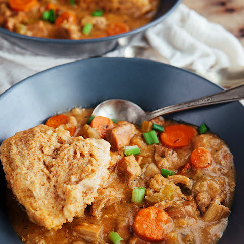 Slow Cooker Chicken and Dumplings (Whole Grain)