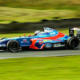 Jamie Caroline by Martin Thomson - Sports & Fitness Motorsports ( btcc, knockhill, formula 4, motorsport, f4 )