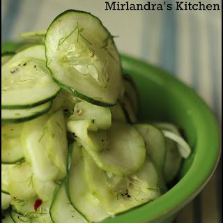 Cucumber Dill Weed Vinegar Sugar Recipes