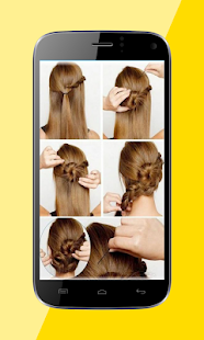 Beautiful Hairstyles by Step - screenshot