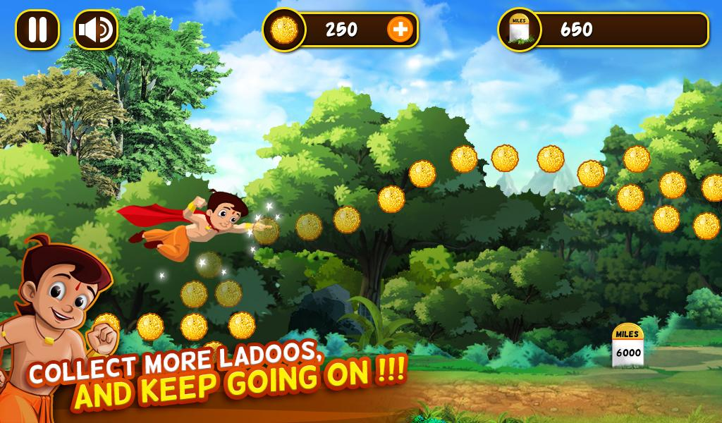 Chhota Bheem Jungle Run Screenshot 6