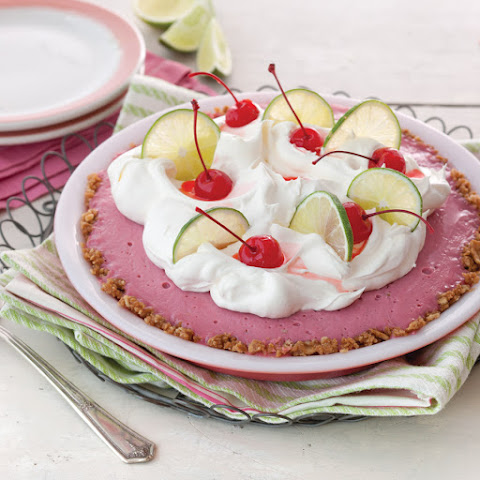 Cherry Limeade Icebox Pie