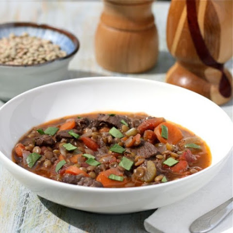 Beef and Lentil Stew