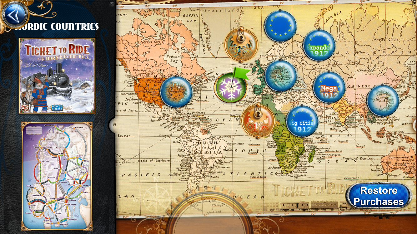 Ticket to Ride Screenshot 4