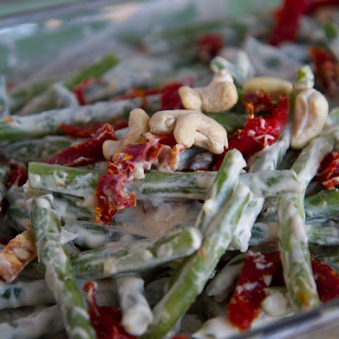 Raw Vegan Green Bean Casserole