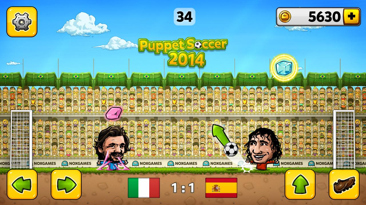 Puppet Soccer 2014 - Football Screenshot 2