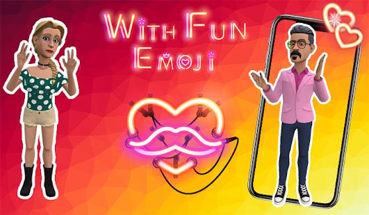 Ar Emoji 3D Emoji Avatar  Fun your Chat