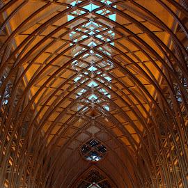COOPER CHAPEL by Dana Johnson - Buildings & Architecture Places of Worship ( ceiling, architecture, chapel, worship, arkansas )