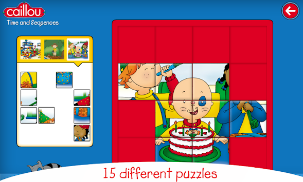 Caillou Learning For Kids APK screenshot thumbnail 5