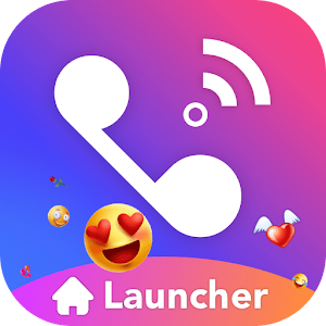 Flash Phone Launcher : Creative Wallpaper & Emoji For PC (Windows And Mac)