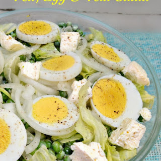 Green Pea Salad With Egg Recipes