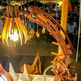 Da Vinci's Lamp by Eli Ditmore - Artistic Objects Furniture