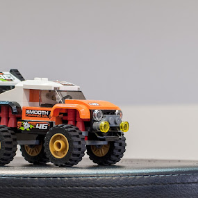 LEGO 4WD by Mark Luyt - Artistic Objects Toys ( orange, 4wd, lego, lego car, toy )
