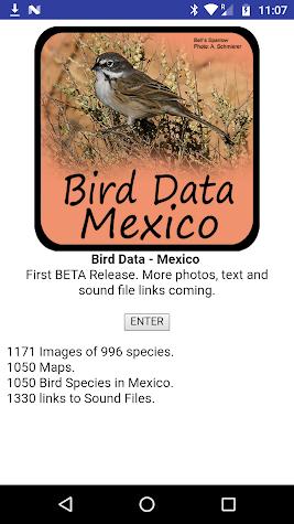 Bird Data - Mexico Screenshot