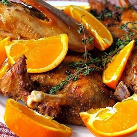 Duck With Oranges