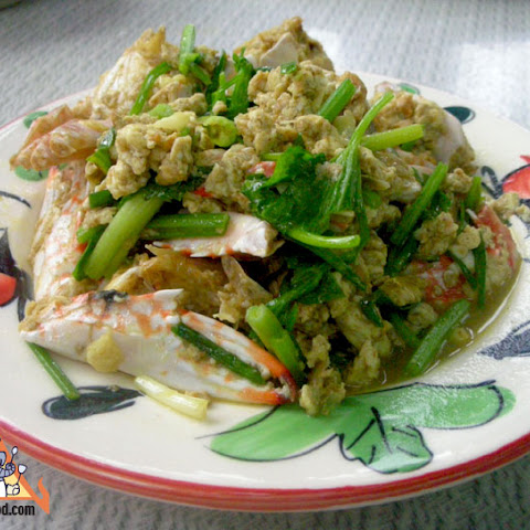 Cracked Crab Thai Curry, 'Bu Pad Pong Kari'