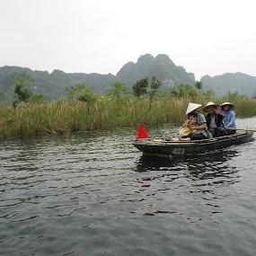 by Tiffany Wu - Transportation Boats