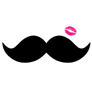 Mustache and Lips