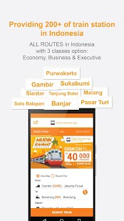 Tiket Kereta Api - Tiket KAI APK for Bluestacks