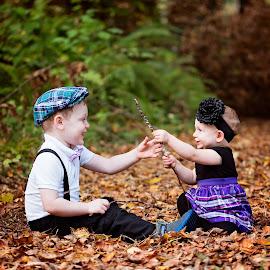 Sibling Love by Michael  Thomas Ireland - Babies & Children Children Candids ( sister, sharing, brother, michaelthomasireland, siblings )