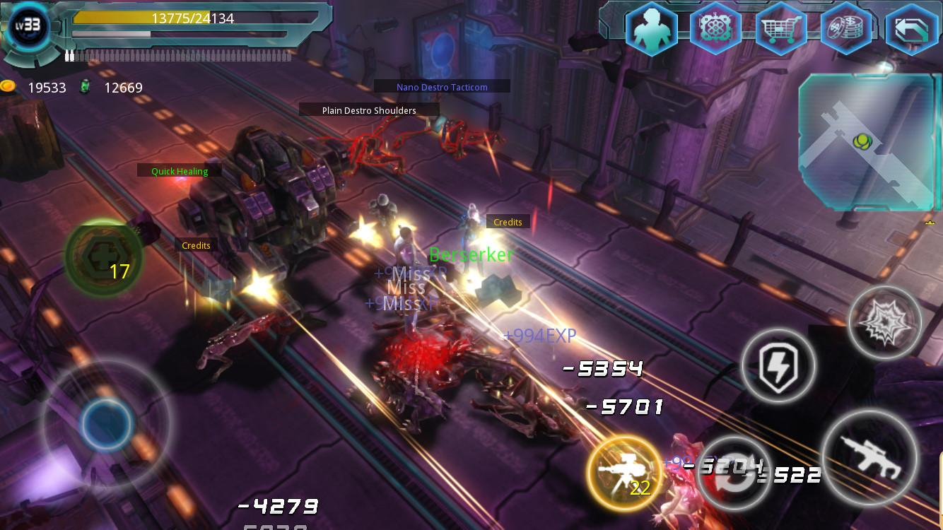 Alien Zone Raid Screenshot 4