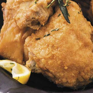 Tuscan Fried Chicken with Lemon