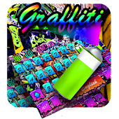 Street Graffiti Color Theme Icon
