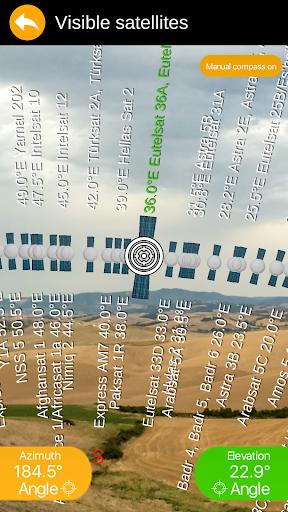 SatFinder 3D Augmented Reality - screenshot