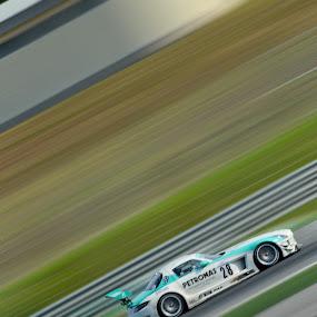Mercedes SLS AMG Petronas by Mohd Hisyam Saleh - Sports & Fitness Motorsports ( amg, petronas, sepang 2012, sls, mercedes )