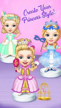 Pretty Little Princess - Dress Up, Hair & Makeup APK screenshot thumbnail 3