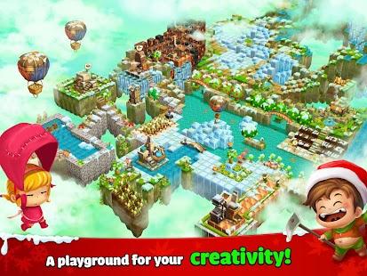 Cube Farm 3D: Skyland Craft APK baixar