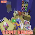 Giant House Map MCPE APK for Bluestacks