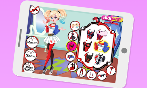 Dress up Harley Quinn new For PC