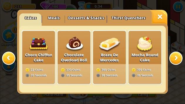Baker's Rush apk screenshot