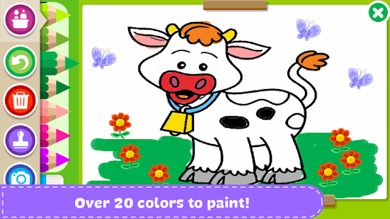 Paint and Learn Animals