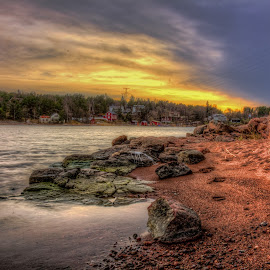 Granite Beach by Bojan Bilas - Landscapes Beaches