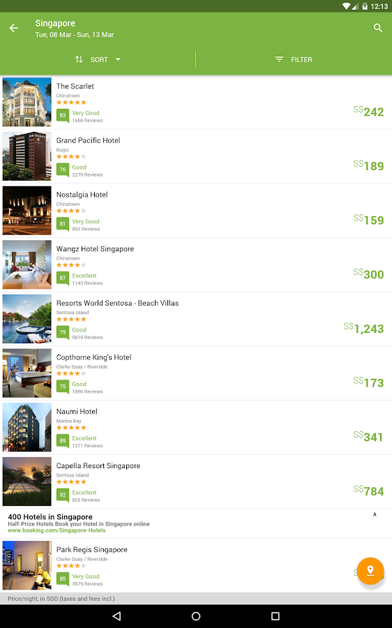 Wego Flights & Hotels Screenshot 7