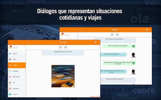 Aprender inglés gratis : vocabulario para hablar screenshot 6