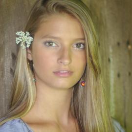 Sweet and Innocent  by Myra Brizendine Wilson - People Fashion ( model, female, nc, photoshoot, beautiful model )