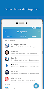 Skype Lite - Chat & Video Call Screenshot