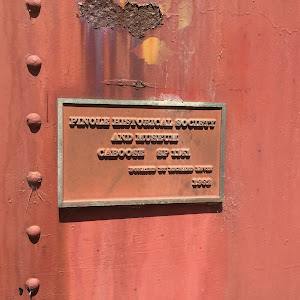 Pinole Historical Society and Meseum Caboose