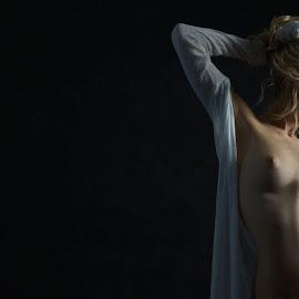 Photoexpo by Csaba Kabátka - Nudes & Boudoir Artistic Nude ( white, beauty, sexy, black, nude,  )